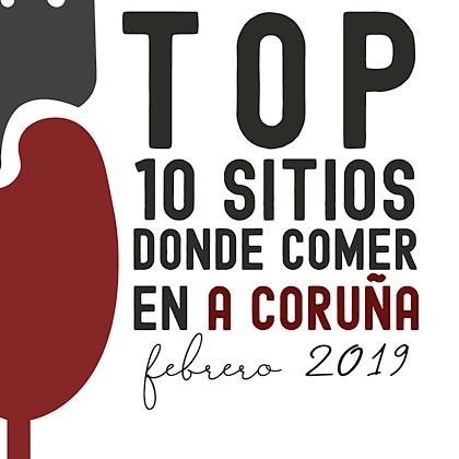 TOP 10 Coruña Febrero